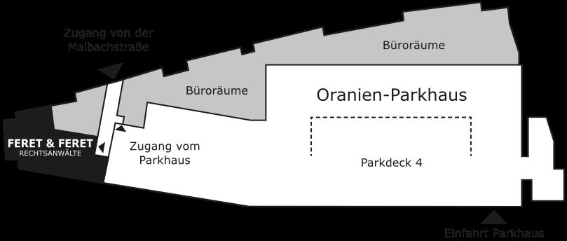 Oranien Parkhaus Dillenburg